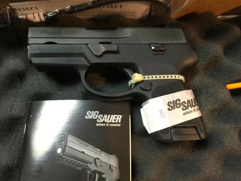 Sig Sauer 250SC-380 - Prize 2015